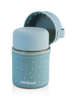 Termo solidos 600 ml Azul Miniland
