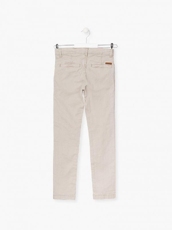 Pantalón chino beig chico