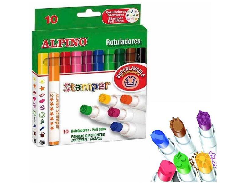 Alpino rotuladores stamper