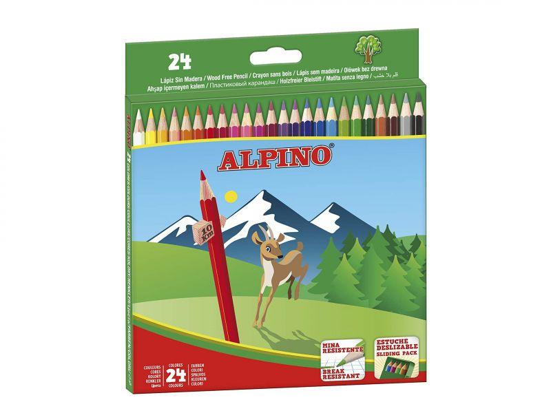 Alpino Lápices de 24 colores