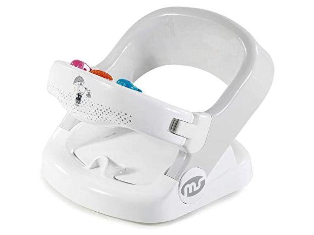 Asiento baño Rounder Blanco/Gris