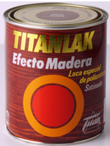 Titanlak efecto madera