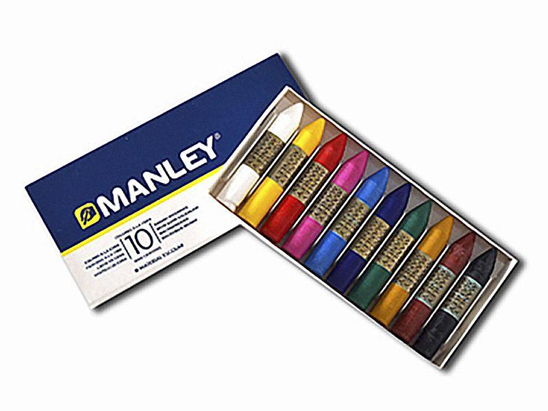 Ceras MANLEY 10 colores
