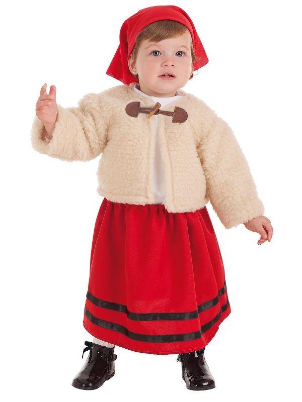 Disfraz de pastora Bebe
