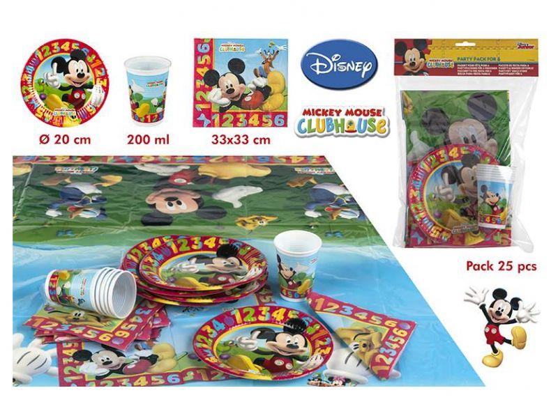Pack de Cumpleaños Mickey