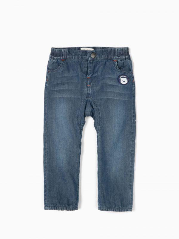 Pantalón efecto vaquero