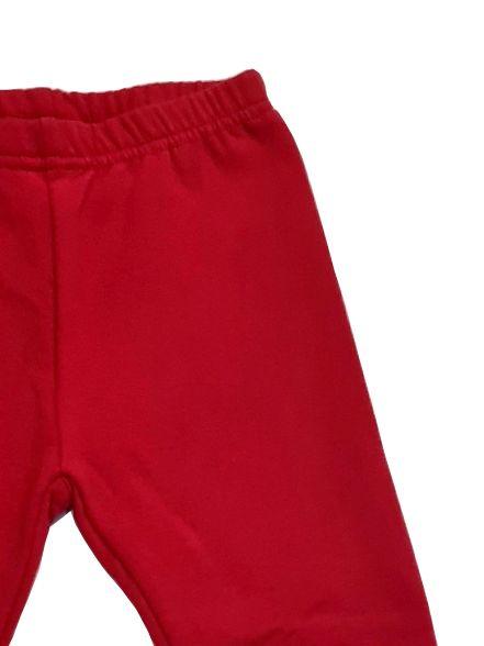 Legging rojo chica básico