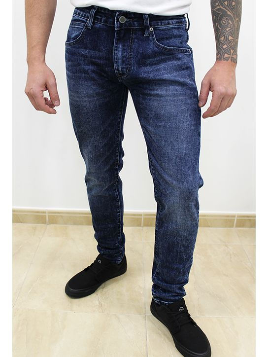 Jeans Slim Fit Desgastado