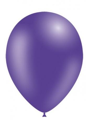 Bolsa 50 globos Purpura