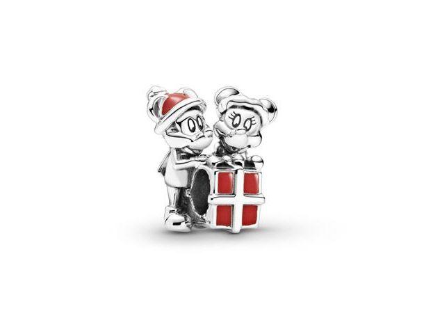 Charm Pandora Mickey y Minnie Gift Box