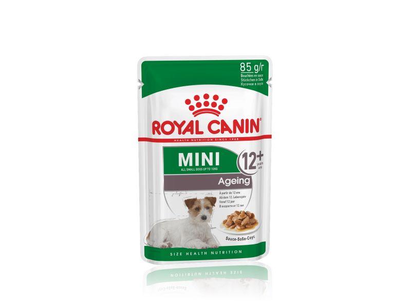 Royal Canin Mini ageing +12 años húmedo