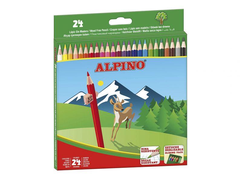 Alpino Lápices de 24 colroes