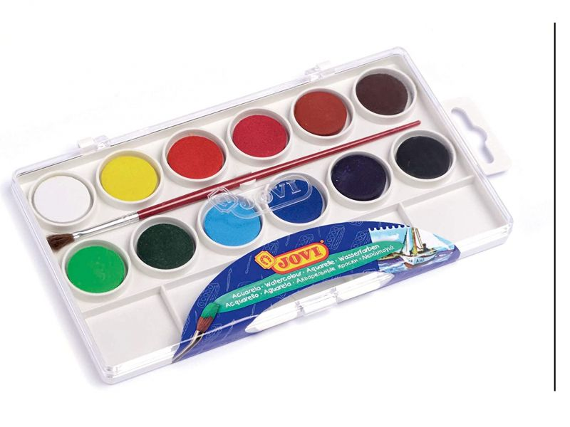 JOVI Acuarela 12 colores