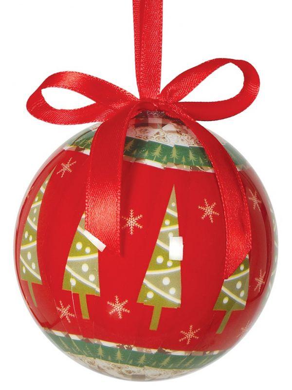 Blister 6 Bolas Navidad