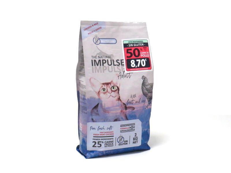 Impulse cat adult pollo y arroz