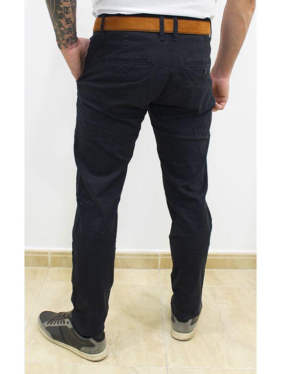 Pantalón Chino Slim Fit Azul