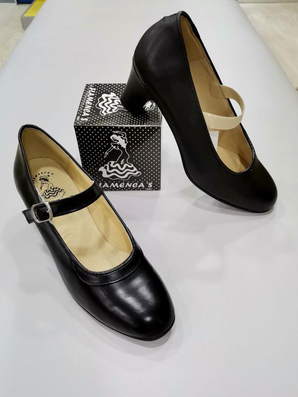 Zapatos Flamencos Piel goma