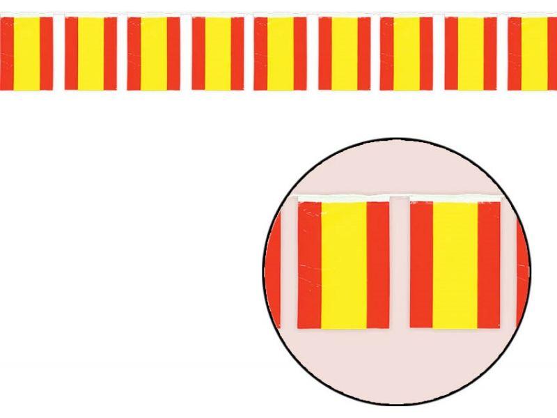 Bolsa de Bandera Plástico de España