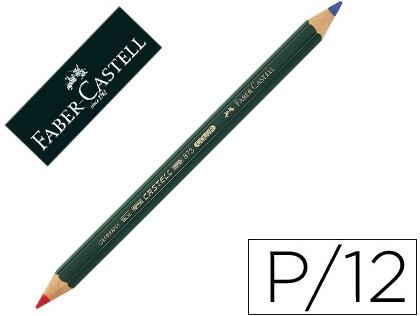 Lápiz 2 colores FABER-CASTELL 873