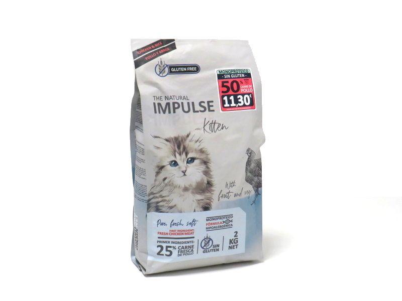 Impulse cat kitten pollo y arroz