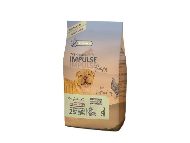 Impulse dog puppy pollo y arroz