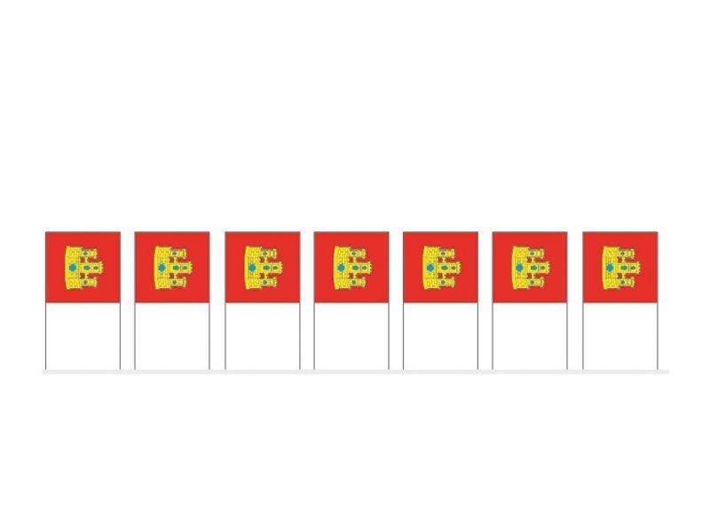 Bolsa de Bandera de Castilla La Mancha