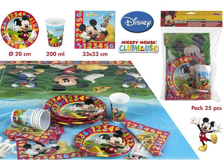 Pack de Cumpleaños de Mickey