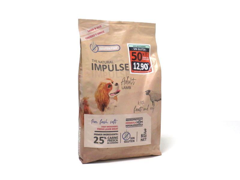 Impulse dog adult cordero y arroz