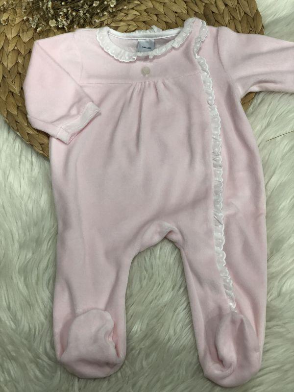 Pijama volante lateral
