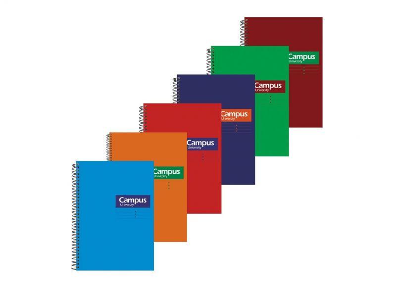 Cuaderno Campus A5 4mm.
