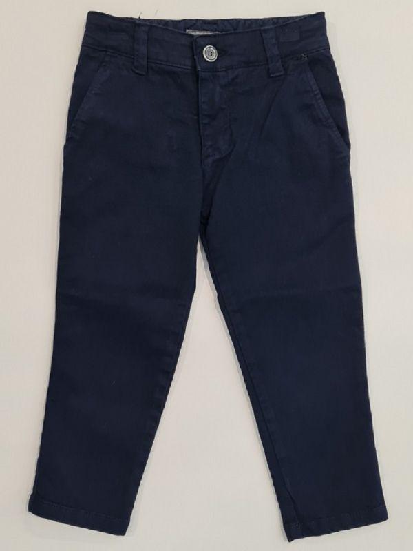 Pantalón chino azul chico