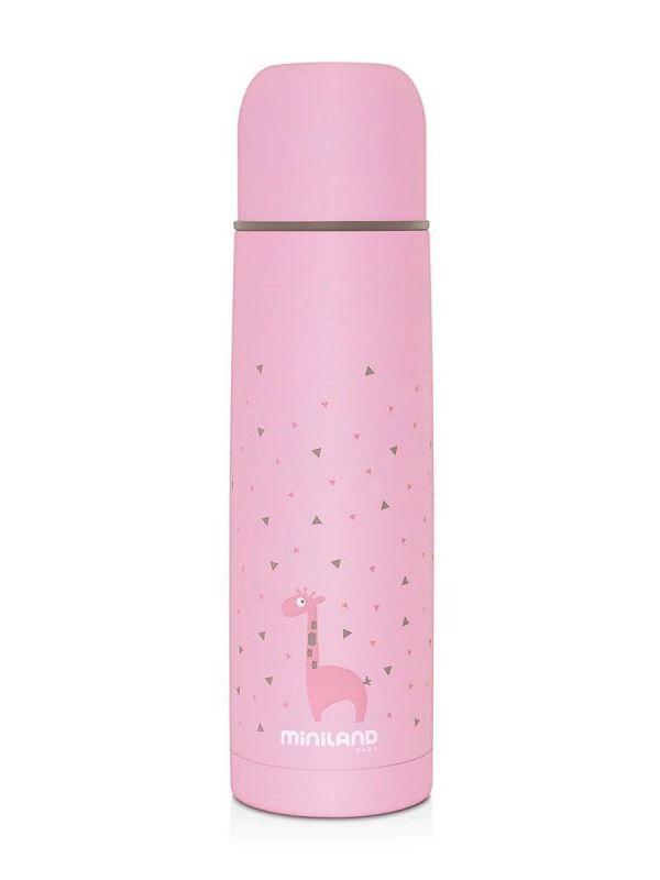 Termo liquido 500 ml Rosa Miniland