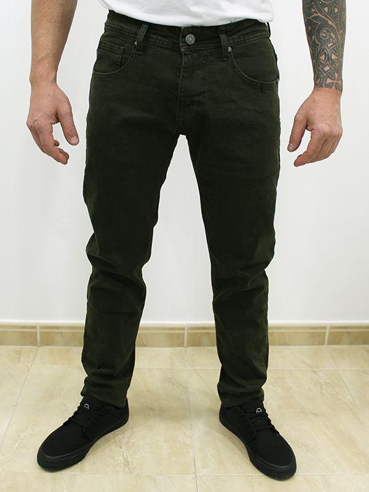 Jeans Slim Fit Verde