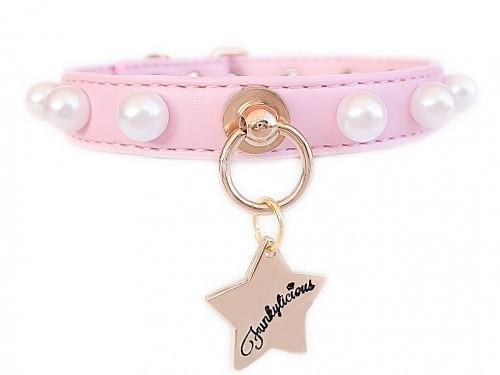 Collar Pearls Rosa