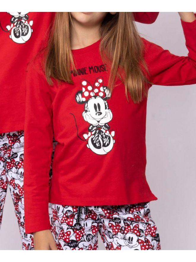 Pijama niña Minnie Mouse