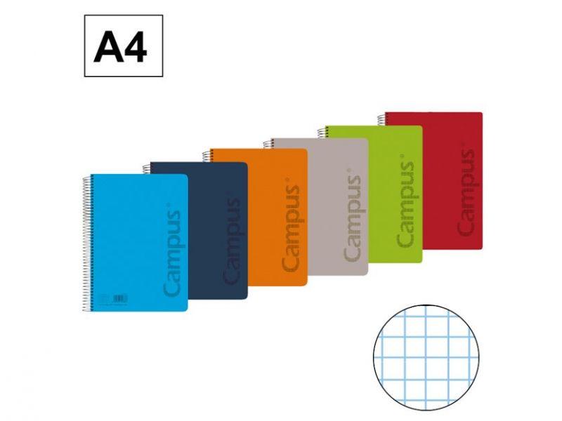 cuaderno campus A4 4mm polipropileno