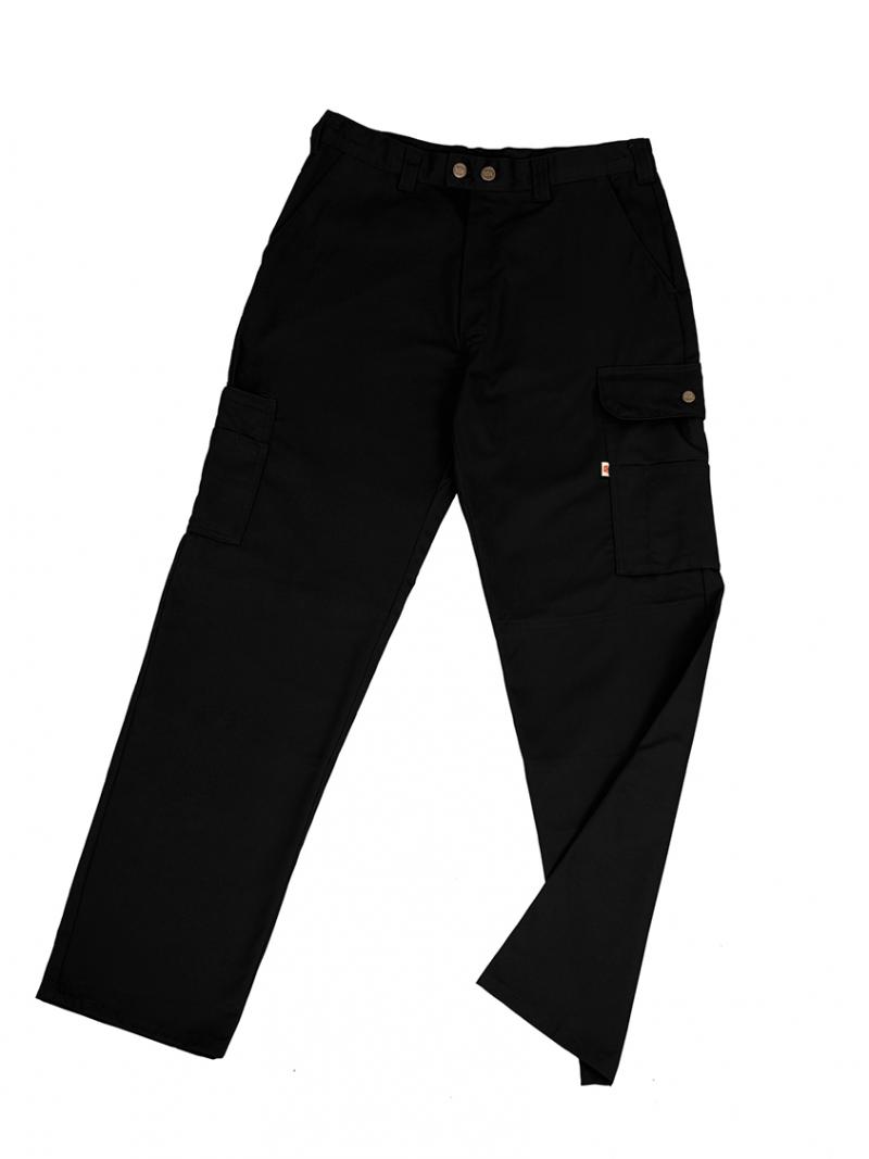 Pantalón WAY Unisex Multibolsillos Negro