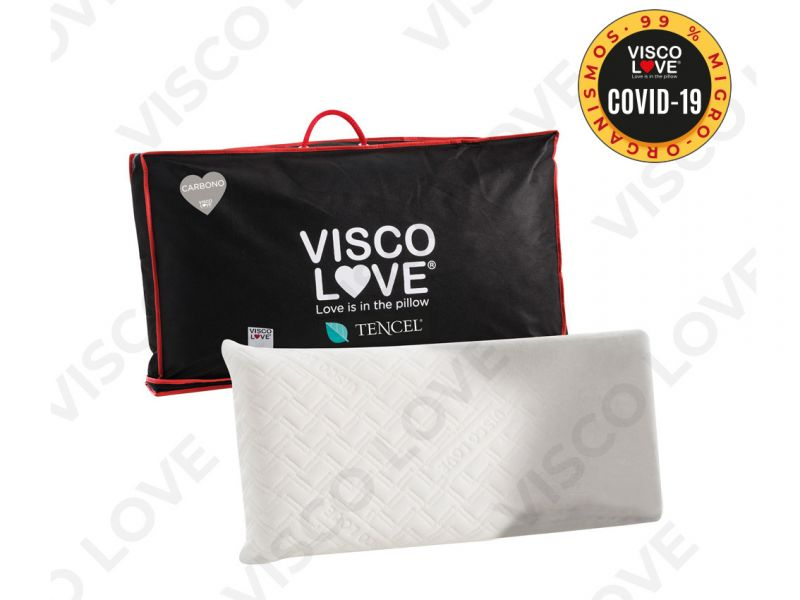 Almohada visco carbono tencel