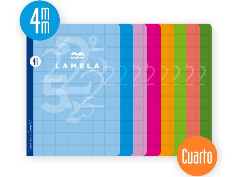 lamela 4mm. 4º 50 hojas 70g