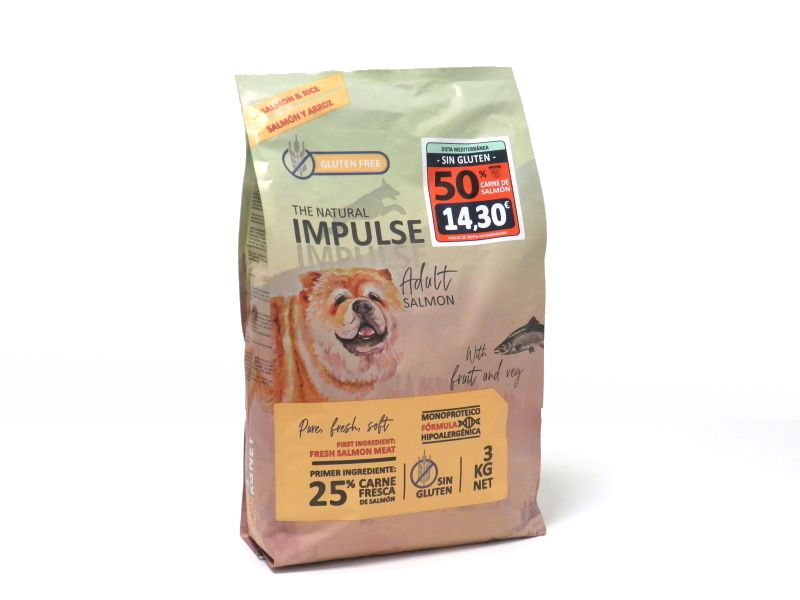 Impulse dog adult salmon y arroz
