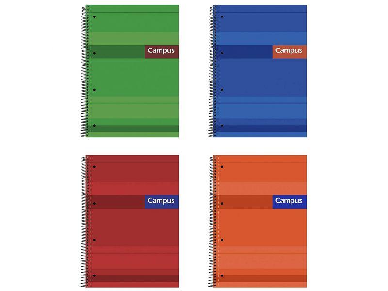cuaderno campus a4 5mm. extradura