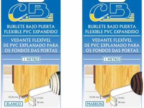 BURLETE FLEXIBLE PVC EXPANDIDO