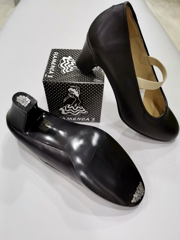 Zapatos Flamencos Piel Hebilla